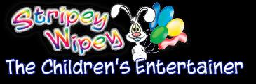 Childrens Entertainer Near Me - Stripey wipey logo