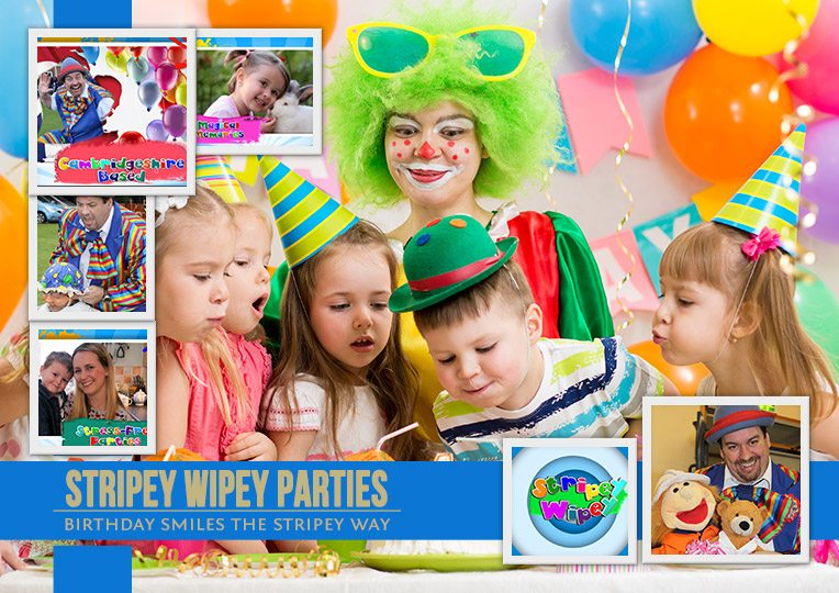 Childrens entertainer near me - Stripey Wipey