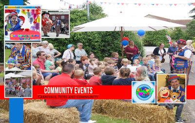 Community event entertainment for children of all ages