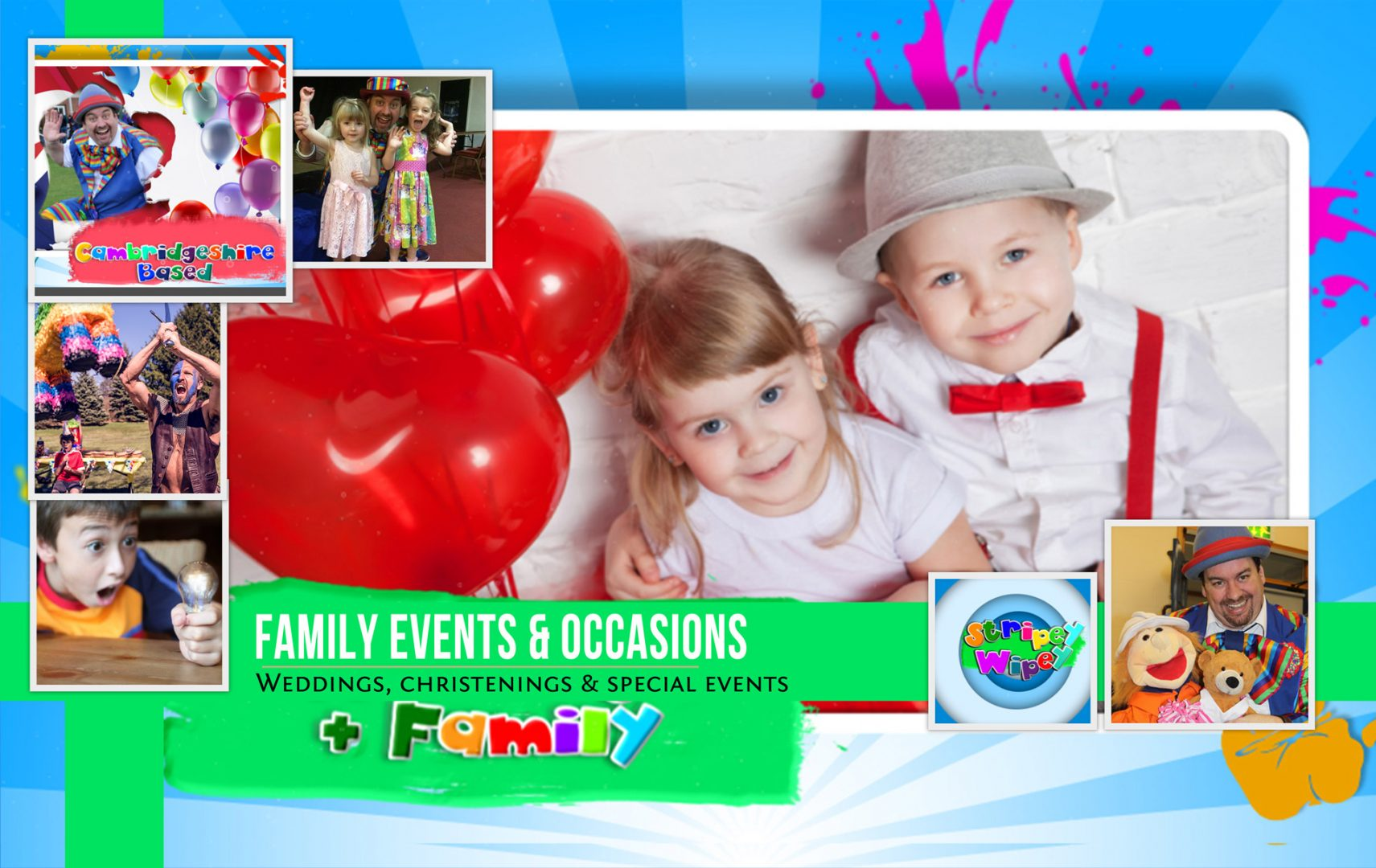 Family Events, Weddings, Christenings, Retirement Parties